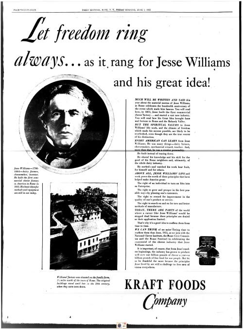 kraft williams ad utica sentinal-page-001